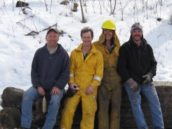Steve, Lindsay, Paul and Carl