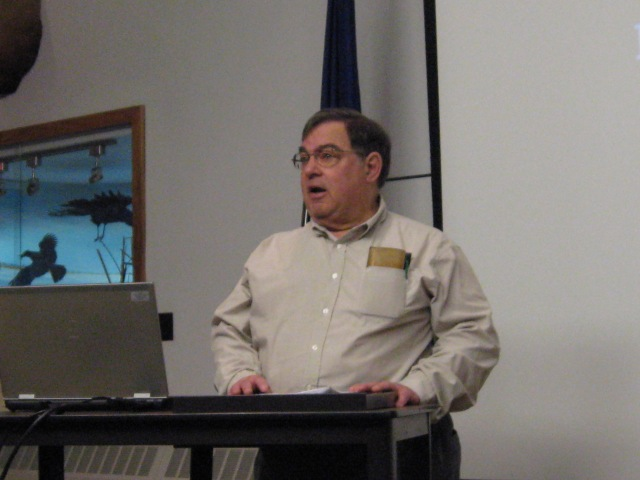 Board member Dr. Donald M. Reed speaking at the KMNHA annual meeting in 2013