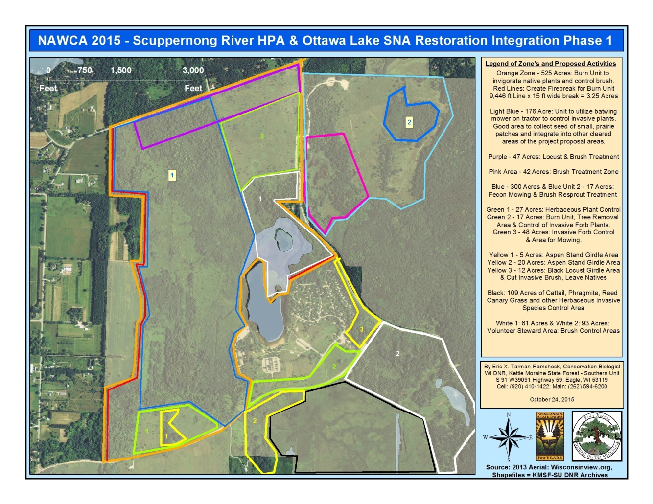 NAWCA 2015 - Scuppernong River HPA & Ottawa Lake SNA Restoration - Phase 1