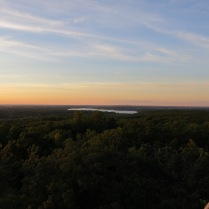 I stopped at the tower at Lapham Peak on the way home.